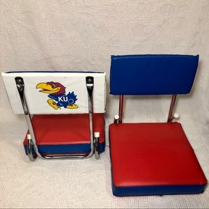 Pair of Stadium Bleacher University of Kansas VTG